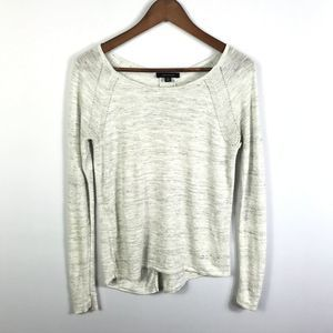 Ann Taylor Womens Scoop Neck Sweater XS